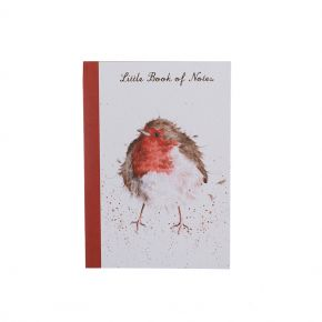 A6 Robin Notebook by Wrendale Designs