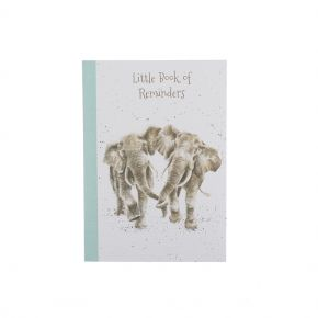 Age Is Irr-Elephant A6 Notebook by Wrendale Designs