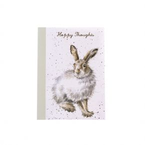 A6 Notebook Mountain Hare by Wrendale Designs