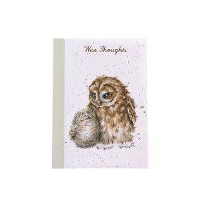 A6 Notebook Owls by Wrendale Designs