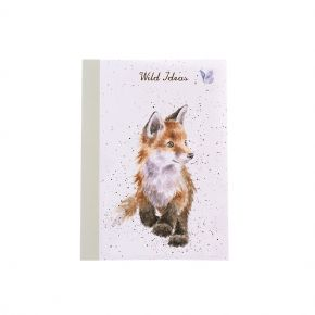 A6 Notebook Fox by Wrendale Designs