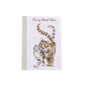 A6 Notebook Cats by Wrendale Designs