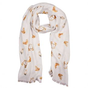 Born to Be wild Scarf by Wrendale Desgns - Country Animals
