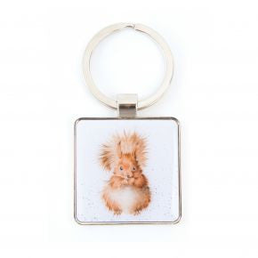 Squirrel Keyring - Wrendale Designs | Two Spotty Dogs