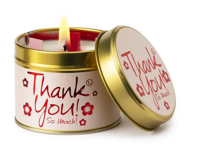 Lily-Flame Scented Candle - Thank you!