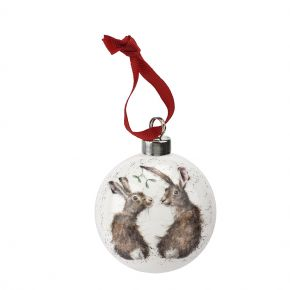 All I Want For Christmas Bauble by Wrendale Designs