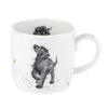 Royal Worcester Wrendale Designs Walkies Fine Bone China Mug