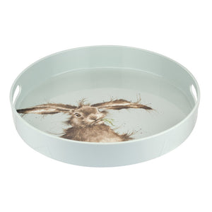 Hare Round Tray by Wrendale Designs