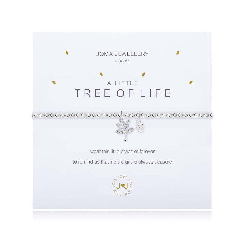 Joma Jewellery - A little tree of life bracelet