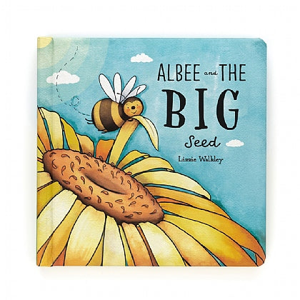 Albee and the Big Seed book by Jellycat