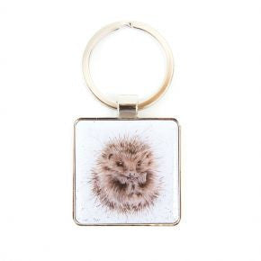 Hedgehog Keyring - Wrendale Designs | Two Spotty Dogs