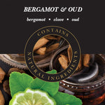 Bergamot & Oud Lamp Fragrance by Ashleigh & Burwood