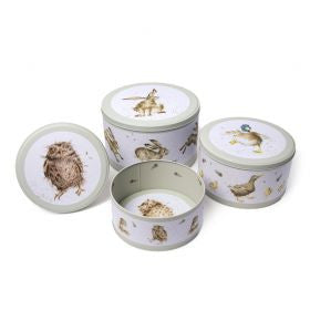 Wrendale Country Set - Cake Tin Set