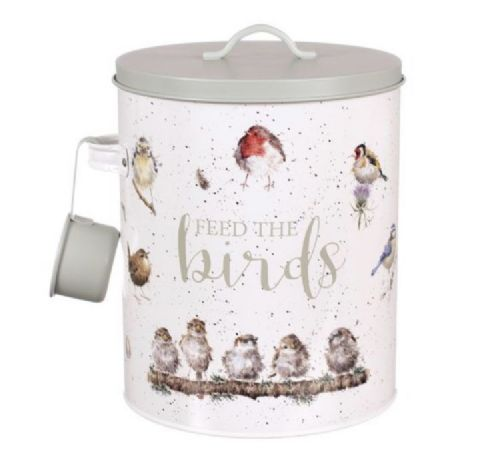 Feed the BIrds - Bird food tin by Wrendale Designs