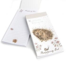 Hedgehog Shopping Pad by Wrendale
