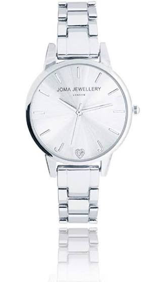 Joma Jewellery Silver Plated Piper watch - was £42.99 now only £25.00