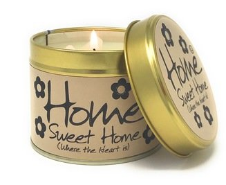 Lily-Flame Scented Candle - Home Sweet Home