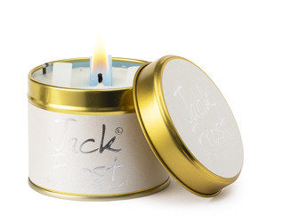 Jack Frost Tinned Candle by Lily-Flame