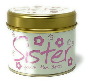 Sister Tinned Candle By Lily-Flame