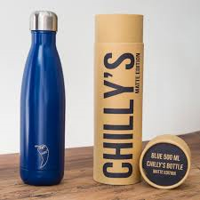 Chilly's Bottle Matte Blue - 500ml