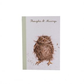 A6 Owl Notebook by Wrendale Designs