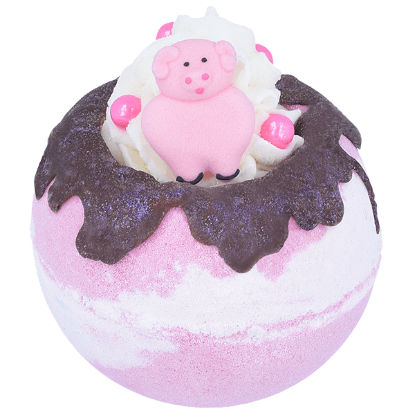 Piggy In The Middle Bath Blaster by Bomb Cosmetics