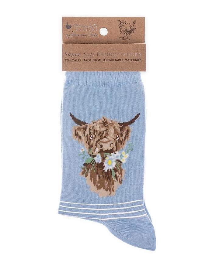 Cow Socks - Daisy Coo by Wrendale Designs