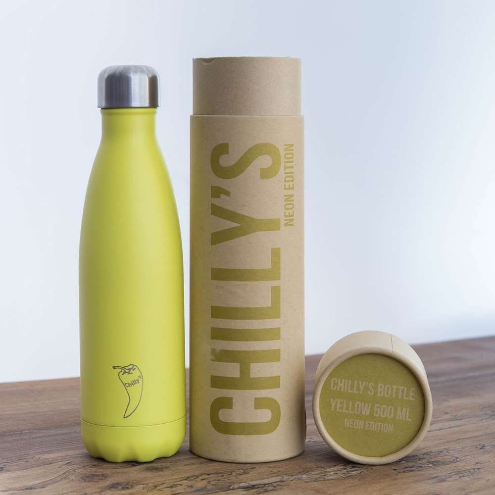 Chilly's Bottle Yellow - 500ml