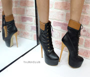 Timber Style Lace up Boots - Tajna Club