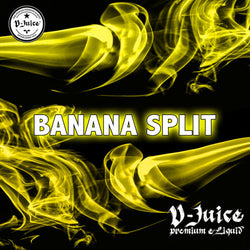 Vjuice Banana Split Eliquid 50/50 Vg/Pg 10ml