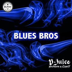 Vjuice Blue Bros Gourmet Eliquid 50/50 Vg/Pg 10ml