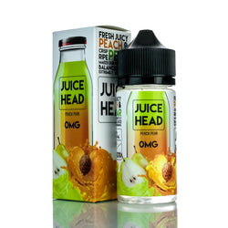 JUICE HEAD E-LIQUID - PEACH PEAR - 100ML