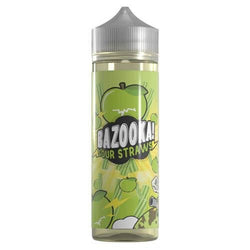 Green Sour Apple Straws By Bazooka 60Ml