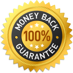 Organixx Money Back Guarantee Seal