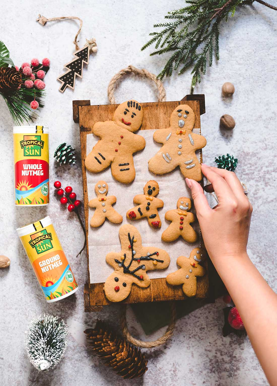 Happy Skin Kitchen Gingerbread Cookies Recipes Tropical Sun Ground Nutmeg