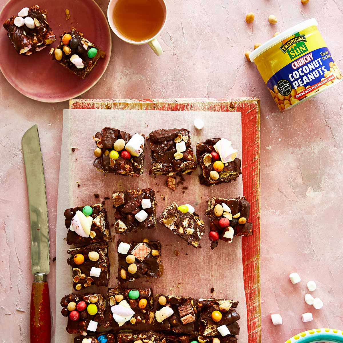 Izy Hossack Coconut Peanut Rocky Road Recipe_Tropical Sun