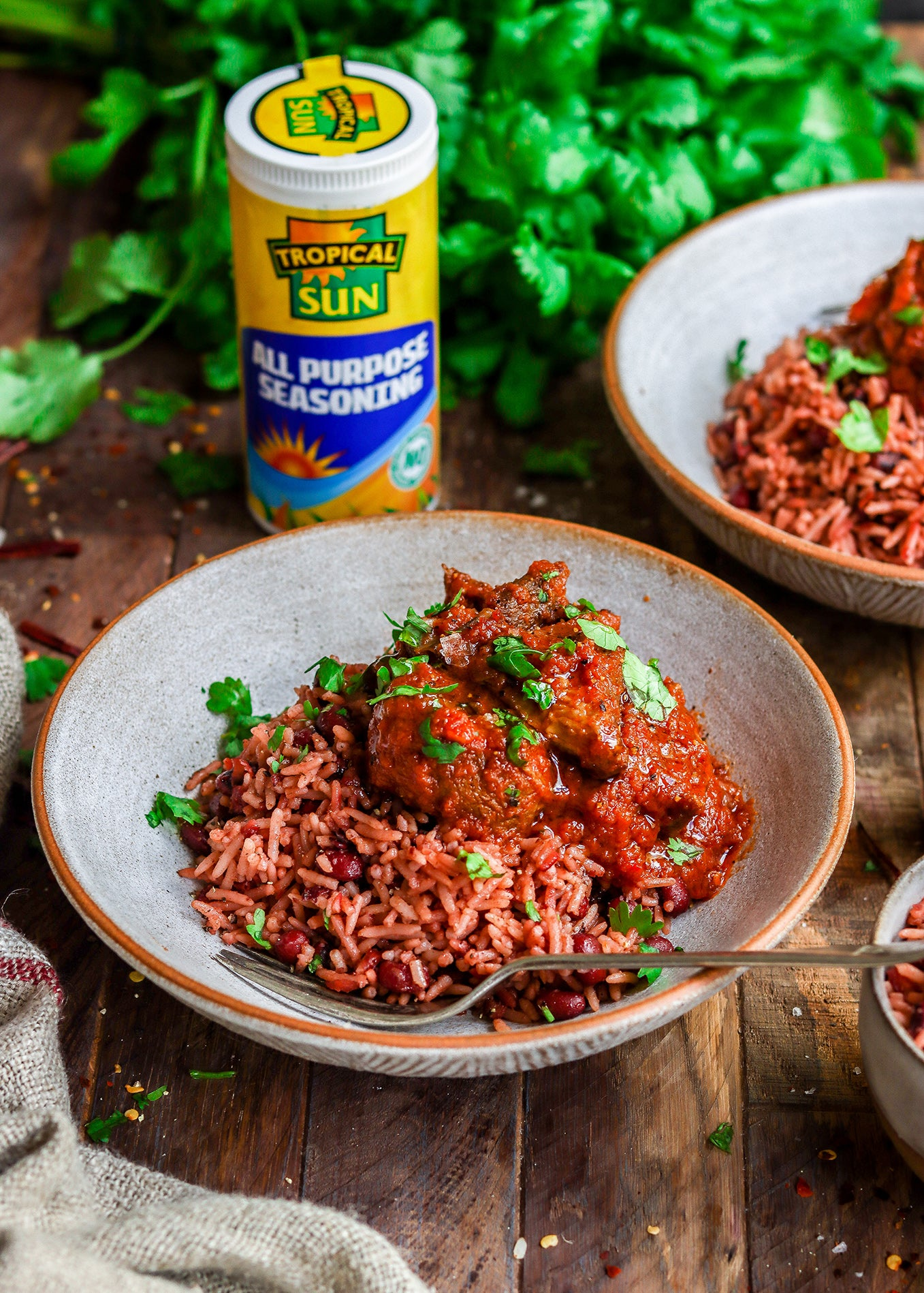 Taalib Adanse Lamb in Red Stew Recipe Tropical Sun All Purpose Seasoning