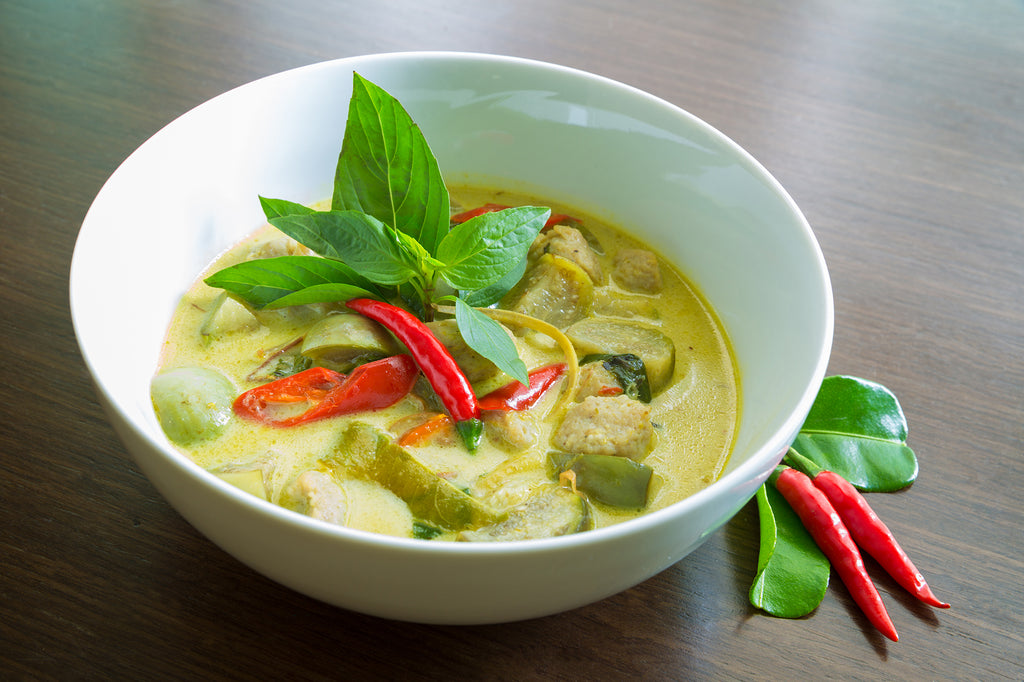 Vegan Thai Green Curry_Tropical Sun