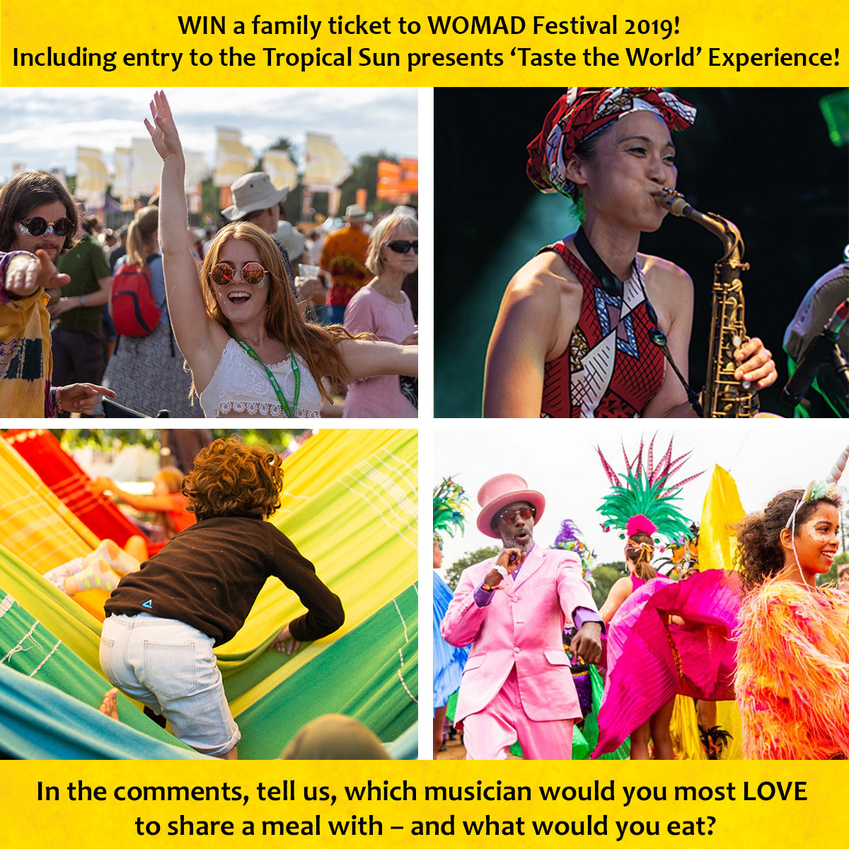 WOMAD 2019 Competition Tropical Sun