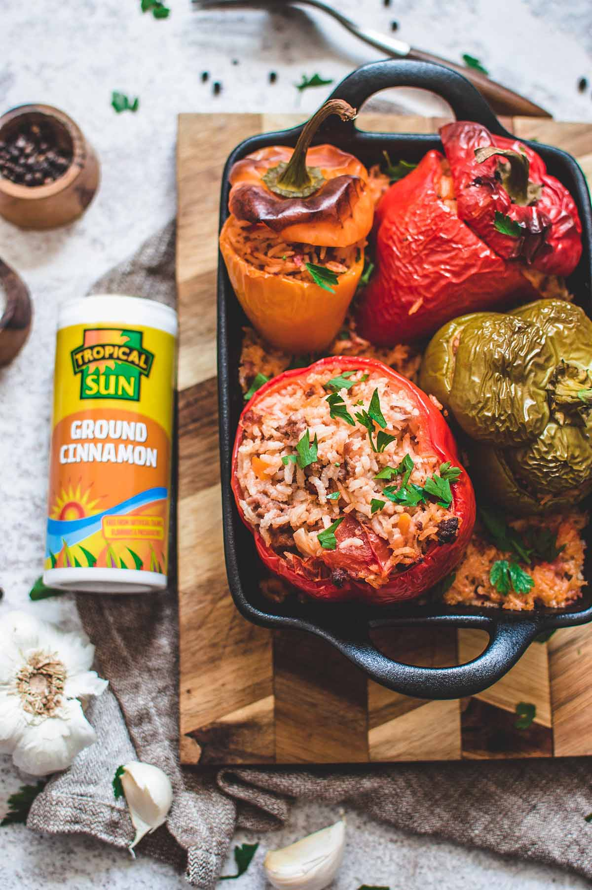 Zhoro Apostolov Ultimate Stuffed Peppers Recipe Tropical Sun Cinnamon