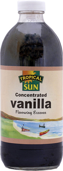 Tropical Sun Vanilla Essence Bottle 480ml