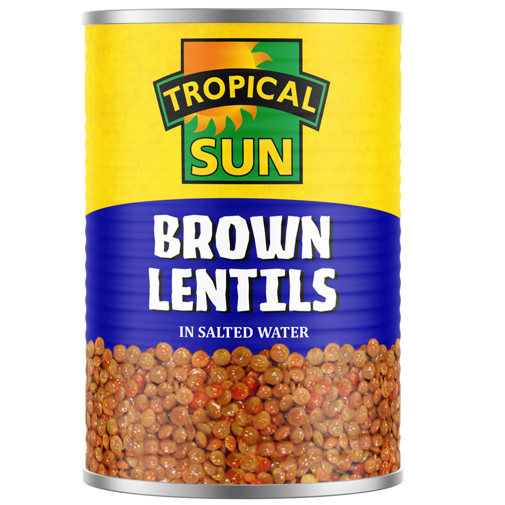 Brown Lentils - Tinned