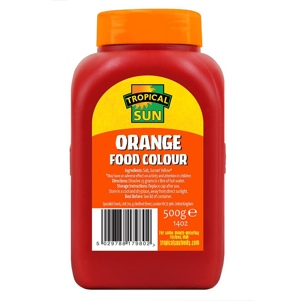 Food Colouring Powder - Orange