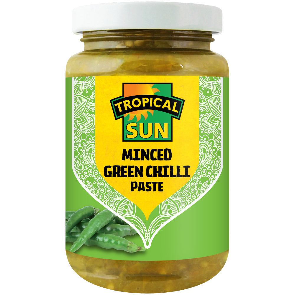 Minced Green Chilli Paste