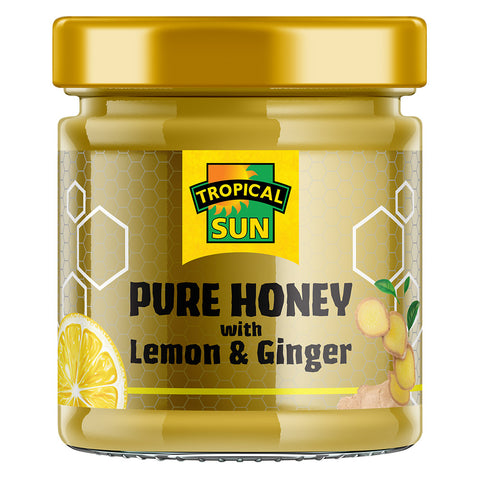 Pure Honey with Lemon & Ginger