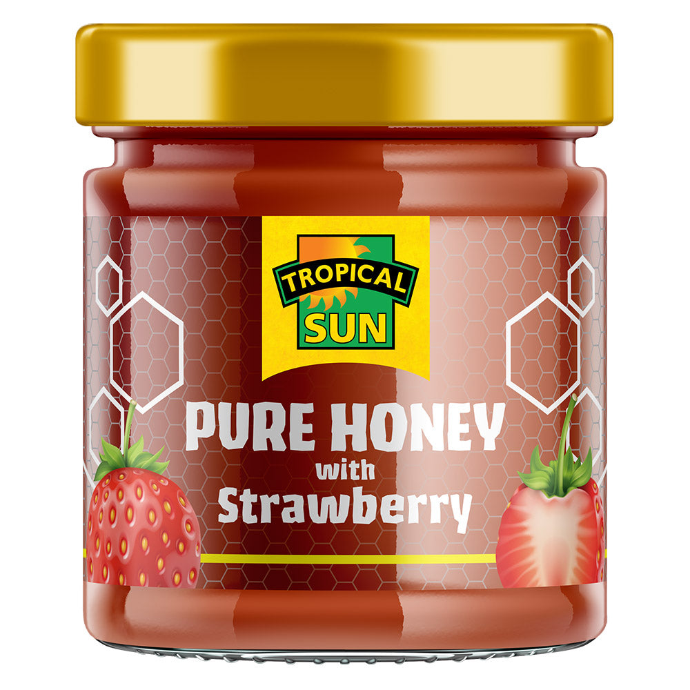 Pure Honey with Strawberry
