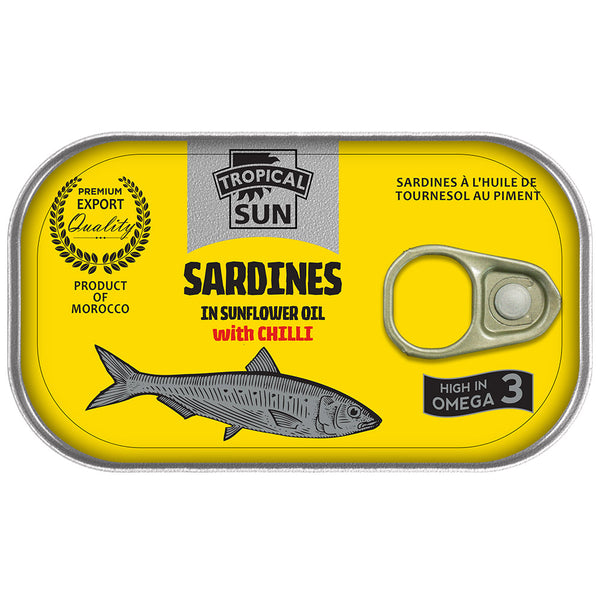 Sardines in Sunflower Oil with Chilli
