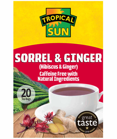 Sorrel & Ginger Tea