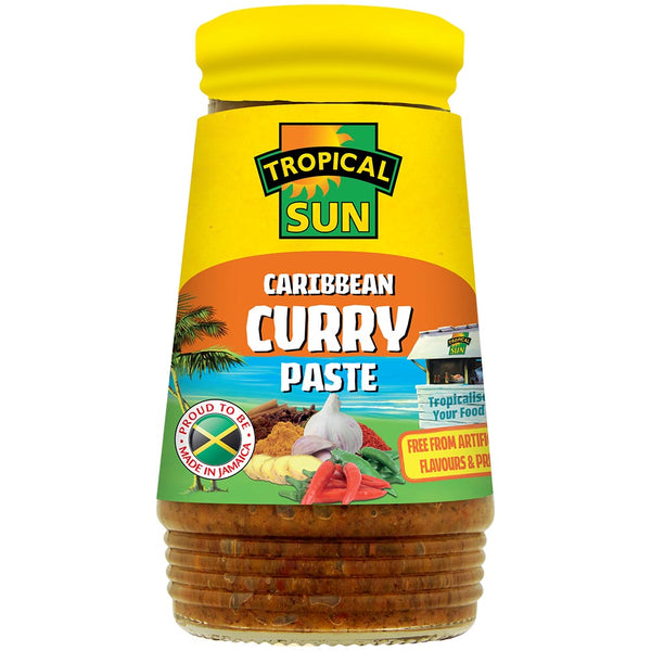 Caribbean Curry Paste