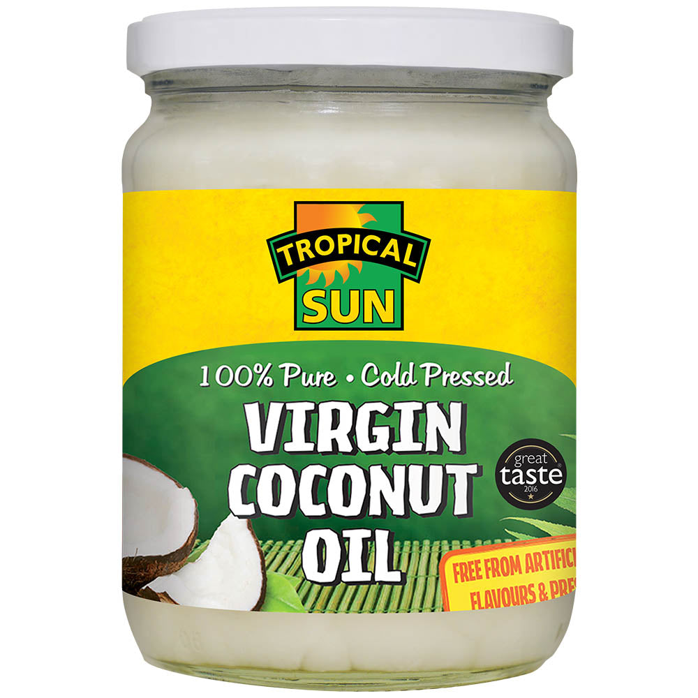 Coconut Oil - 100% Pure Cold-Pressed Virgin